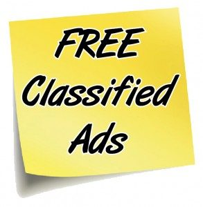 Free classified ads in your neighbourhood and worldwide.