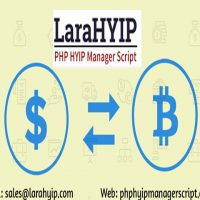 Bitcoin Supported HYIP Manager Script for Sale