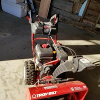 """28"""" Troybuilt Snowblower - 2 stage 357CC used once"""