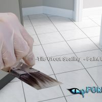 High Quality Paint Brush for Painting Grout line | pFOkUS