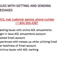 Give us a Ring at AOL Customer Care Support Phone Number-1-844-350-4287