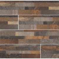 Rocky Gold 6X24 Matte Ledger Panel - Backsplash Tile USA