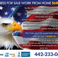 Business for sale work from Home