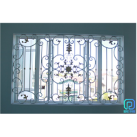 Simple Vintage Wrought Iron Window Grills