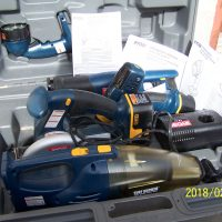 18V Tool Kit with Storage/Carrying Case