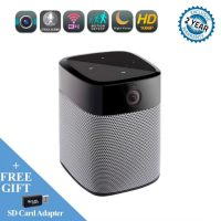 1080P Wifi IP Camera and Bluetooth Speaker,Security Camera with Night Vision Two Way Audio